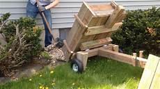 build a wooden wheelbarrow dump cart diy project the