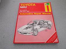 manual repair free 1986 toyota mr2 security system buy haynes toyota mr2 1985 1986 1987 owner s workshop all models repair manual motorcycle in