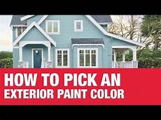 choosing exterior paint color ace hardware youtube
