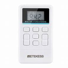 Retekess Portable Radio Receiver 108mhz Automatic by Retekess Tr 612 Portable Fm Radio Receiver 50 108mhz