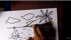 Contoh Gambar Cara Menggambar Dan Mewarnai Untuk Pemula