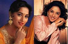 notice the evolution of madhuri dixit fashion hair
