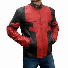 deadpool coats for buy deadpool real leather jacket deadpool