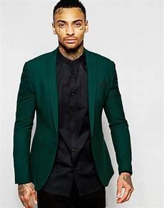 2017 dernier manteau pantalon design vert fonc 233 hommes