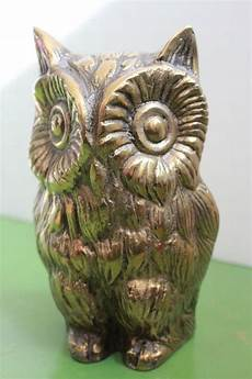 beautiful bird owl figurines large brass owl figurine vintage bird vintage birds