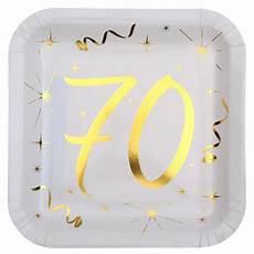 assiette anniversaire 70 ans achat assiette