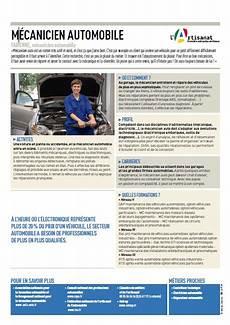 salaire mecanicien auto fiche metier mecanicien