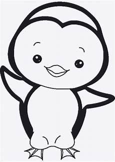 Malvorlage Pinguin Einfach Pinguine Bilder Zum Ausdrucken Weihnachten Pinguin