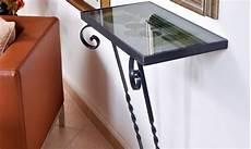 mensole ferro mensola ferro e vetro bricoportale fai da te e bricolage