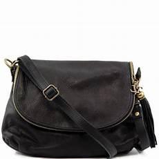 sac bandoulière cuir noir femme sac bandouli 232 re cuir besace femme tuscany leather