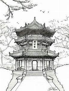 Malvorlagen Umwelt China Baumhaus Baumhaus Zeichnen Und