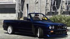 bmw m3 e30 1991 add on tuning convertible gta5