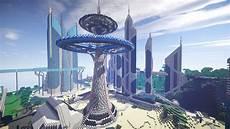 Map Ville Future City 3 0 Arrive Minecraft Aventure