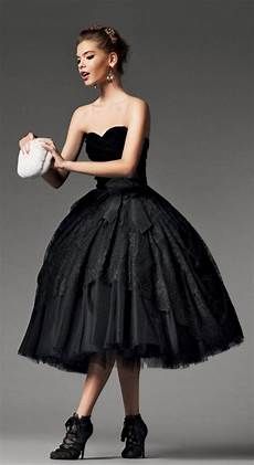 aliexpress com buy vintage black gothic short tea length