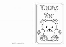 Thank You Card Template Pages by Printable Greetings Cards For Sparklebox