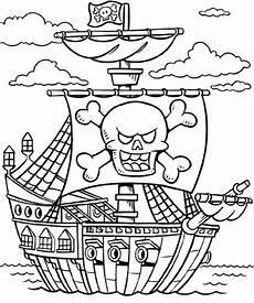 Kostenlose Malvorlagen Piraten Piratenschiff Kinder Malvorlagen Ausmalbilder