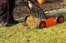 Muss Der Rasen Im Herbst Vertikutiert Werden Rasensamen