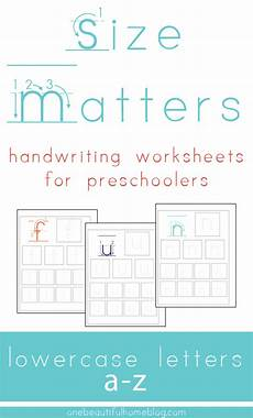 handwriting worksheets letters of all sizes 21474 handwriting practice lowercase letters 187 one beautiful home