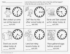 free time with am pm activity and five for friday by 2nd grade snickerdoodles 1st grade math