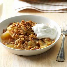 crisp home weeknight apple crisp recipe taste of home