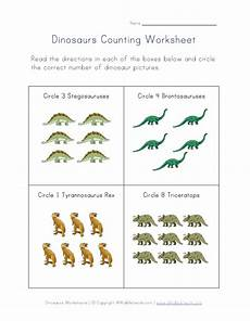 dinosaur matching worksheets 15344 counting dinosaurs worksheet many more variations on the website all network dinosaur