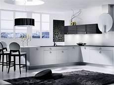 Noir Et Blanc Habillent La Cuisine D 233 Coration