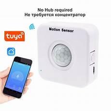 Makegood Tuya Smart Wifi by Motion Sensor Wifi Tuya Smart App Mini Pir Infrared