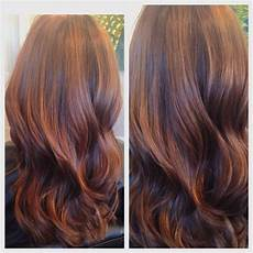 fall hair babylights balayage with chestnut and