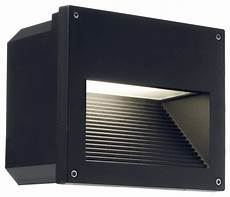 clara recessed wall light in black contemporary outdoor wall lights and sconces melbourne
