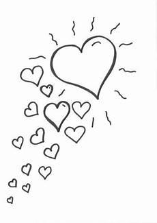 Ausmalbilder Sterne Und Herzen Kostenlose Malvorlage Herzen Malvorlage Herzen Zum Ausmalen