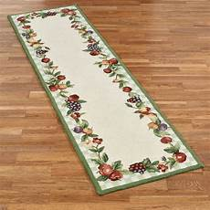 Kitchen Area Rugs With Fruit by Sonoma Hooked Fruit Rug Runners