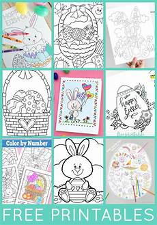 30 totally free easter printables happiness is