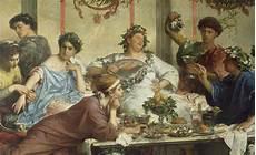 banchetto romano banchetti nell antica roma slaves for collecting vomiting