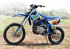 Biaya Modifikasi F1zr Jadi Trail by Modifikasi Gambar Yamaha Fiz R Trail Grasstrack Adventure