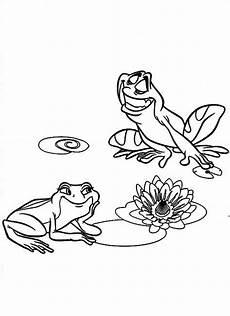 disney in frog form coloring pages sducartelca