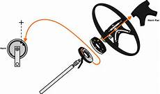 vw parts jbugs com stock vw steering wheel horn diagrams