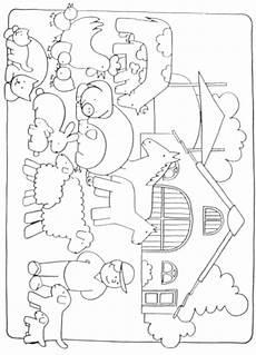 Ausmalvorlagen Bauernhof Kuh Ausmalbilder Animaatjes De