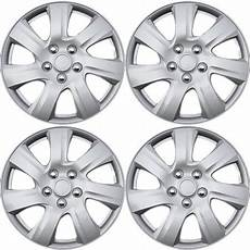 16 quot inch silver wheel covers for select toyota camry set