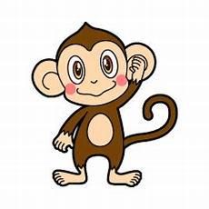 Gambar Lucu Animasi Monyet Lucu Jam