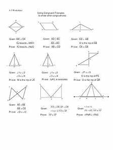 congruent triangles worksheet for 10th grade lesson planet