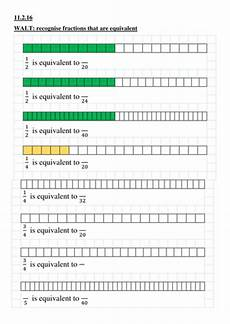 ks2 equivalent fractions by cjt123 teaching resources tes