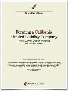 how to form an llc in california reference180 com