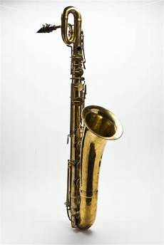 used baritone saxophone celebrating the inventor of the saxophone national fund for acquisitions