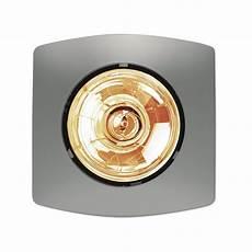 Single Bathroom Heat Light by Hpm 275w Matt Silver Single Bathroom Heater Bunnings