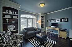 Grey And White Home Decor Ideas by 20 Colorful Ways To Enliven Your Gray Home Office