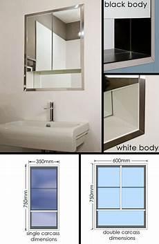 spiegelschrank in wand eingelassen recessed and built in bathroom mirror cabinets with lights