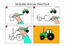 Apprendre 224 Dessiner Un Tracteur En 3 233