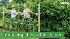 Bauanleitung Himbeerspalier Bauen