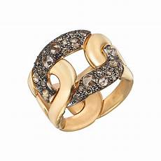 pomellato rings pomellato pink gold brown quot quot ring betteridge