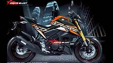 Striping R Modif by Tujuh Modifikasi Striping Yamaha Xabre 150 All New Color